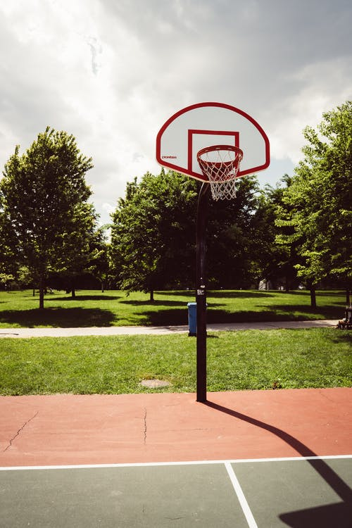 Low-angle Photography of Basketball Hoop