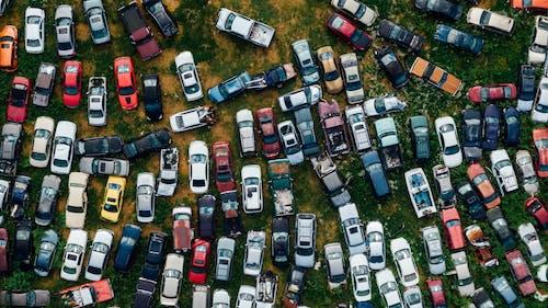 Ilmainen kuvapankkikuva tunnisteilla autot, business, droonikuva, ilmakuva