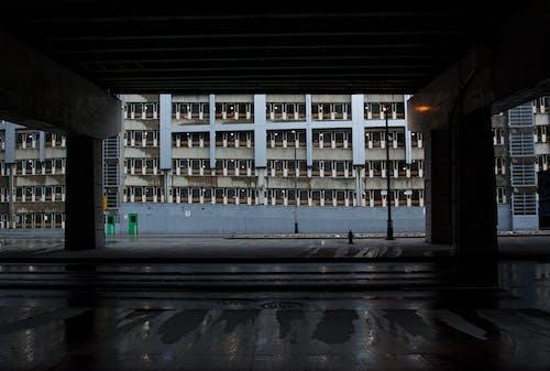 光, 光線, 在桥下, 城市 的 免费素材照片