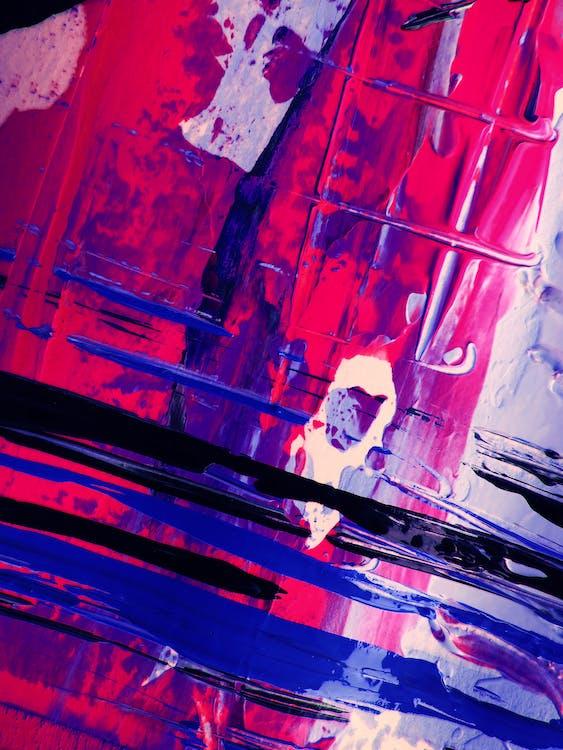 4k-háttérkép, absztrakt expresszionizmus, absztrakt festmény