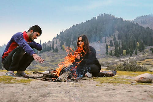 Free stock photo of #fire, #india, #kashmir, #travelgirl