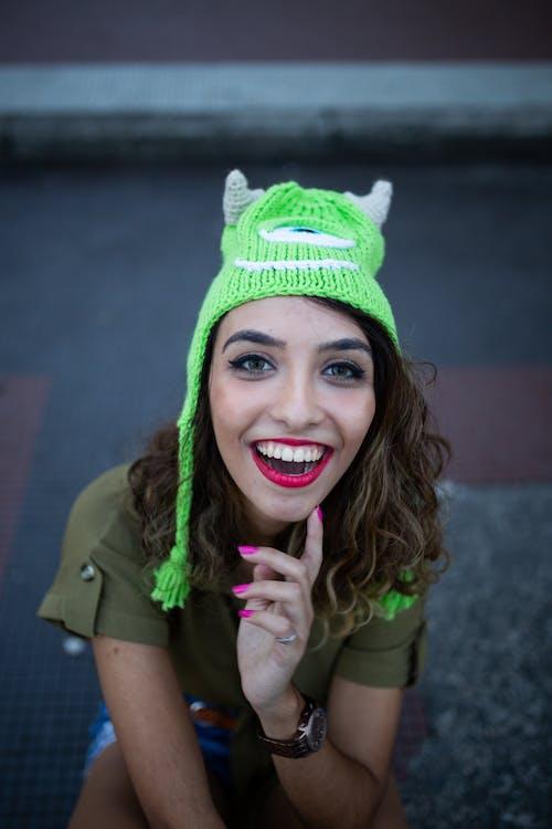 buổi chụp ảnh, ca bô, cái mũ len