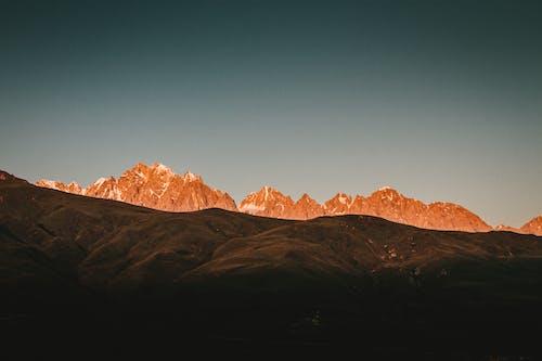 Imagine de stoc gratuită din amurg, călătorie, deal, formațiune stâncoasă