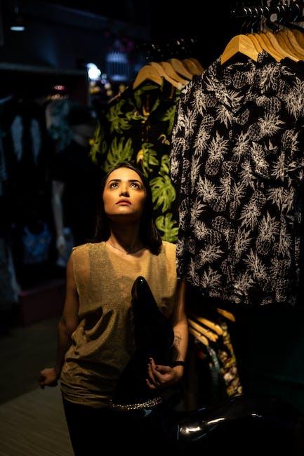 Photo of woman looking upwards