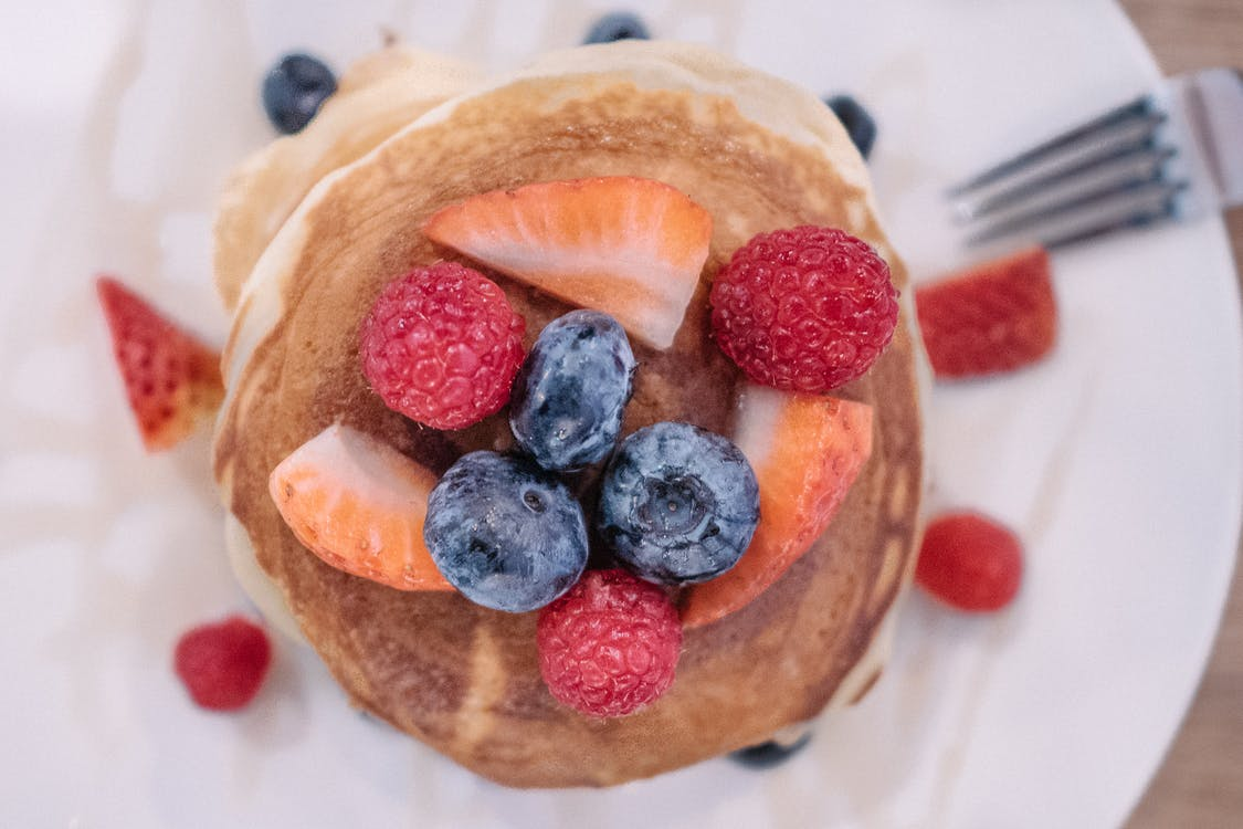 Pancakes With Fruits