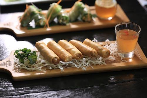 Základová fotografie zdarma na téma asijská kuchyně, jarní závitky, kambodža, kambodžské jídlo