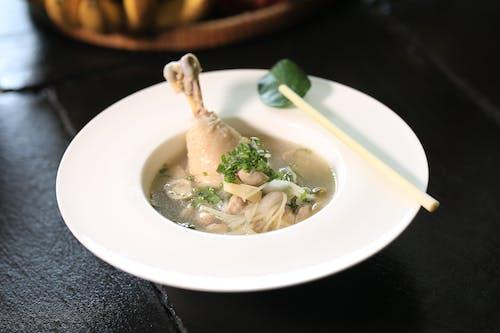 닭, 맛있는, 보울, 수프의 무료 스톡 사진