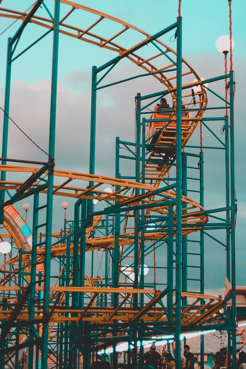 Photo of Roller Coaster on Amusement Park