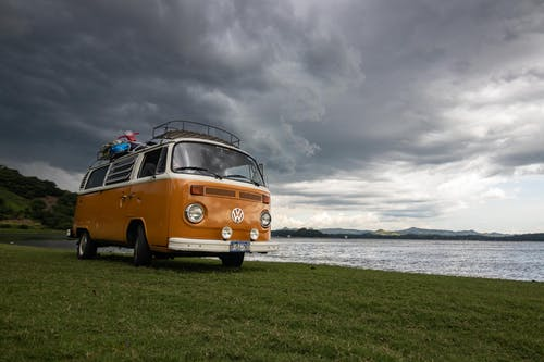 Free stock photo of blogger, camp, carriage, clouds