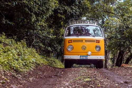 Photo of Volkswagen Kombi on Dirt Road