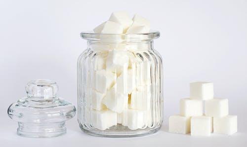 Immagine gratuita di barattolo di vetro, cibo, dolce, zollette di zucchero