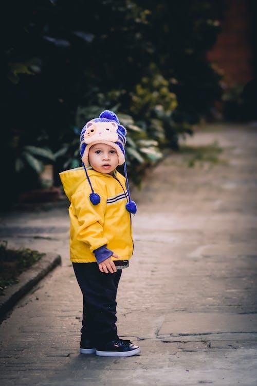 Photo of Child Wearing Beanie