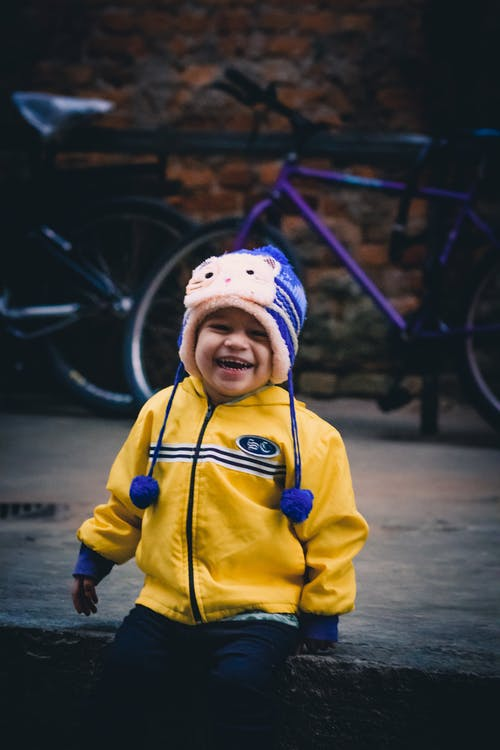 Photo of Kid Wearing Knit Cap