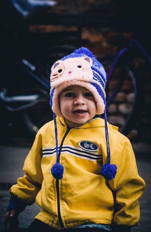 Fotobanka sbezplatnými fotkami na tému batoľa, chladný, dieťa, klobúk