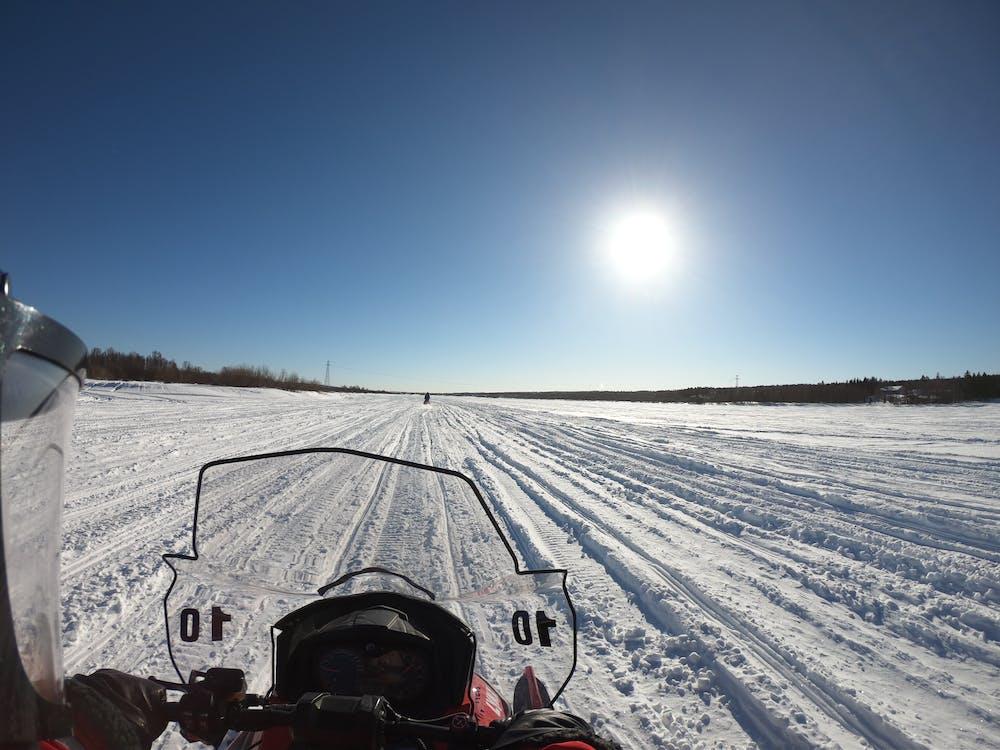 Foto profissional grátis de moto de neve, motoneve