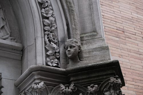 Free stock photo of boy, church, head, sculpture