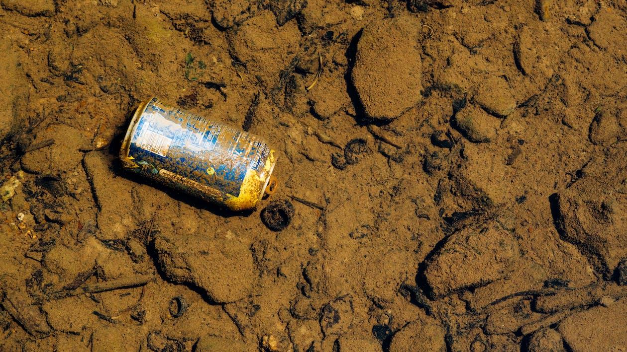 blato, hlina, odpad