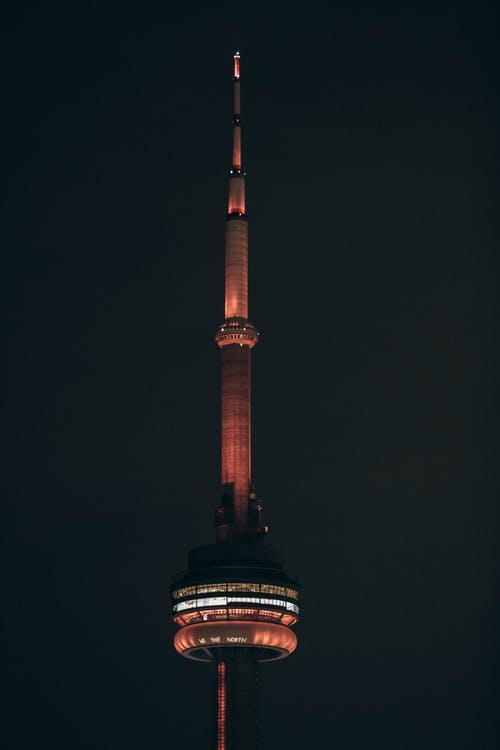 Photo of CN Tower During Nighttime