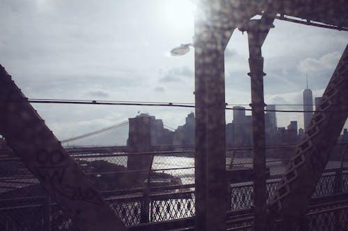 Foto d'estoc gratuïta de al metro, finestra, Manhattan, Nova York