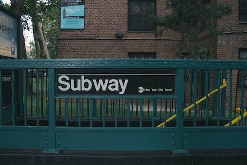 Foto d'estoc gratuïta de metro, Nova York, NYC, verd