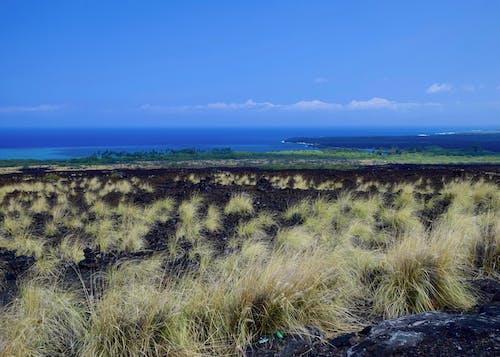 Foto stok gratis hawaii, pemandangan teluk kiholo, pulau besar