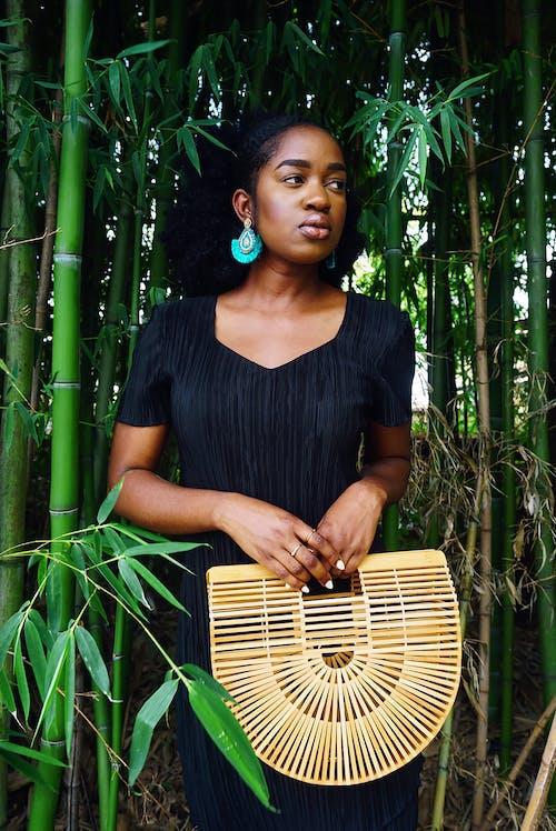 Ingyenes stockfotó afrikai nő, afro haj, afro-amerikai nő, áll témában