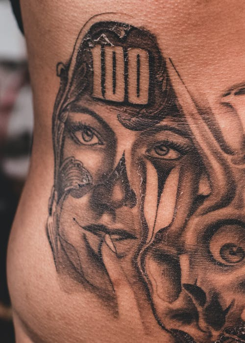Close-Up Photo of Tattoo