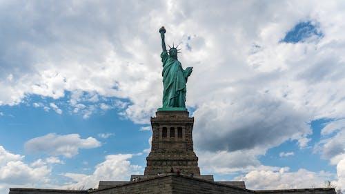 Darmowe zdjęcie z galerii z posąg, statua wolności, wyspa