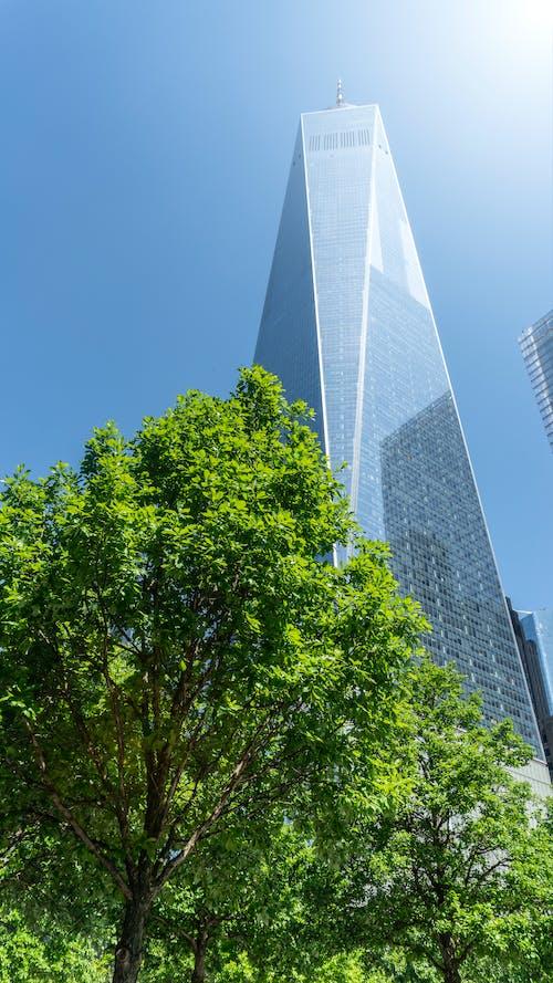 Darmowe zdjęcie z galerii z budynek, światowe centrum handlu, wieża wolności, wolność