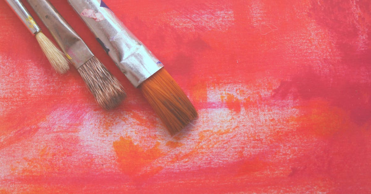 Free stock photo of #bright #paint #colour #pink #brushes #artist #art