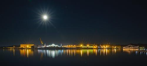 Gratis stockfoto met nacht, nachtelijke hemel, veerboot