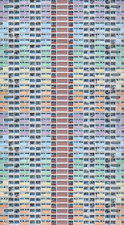 abstrakt, apartments, architektur
