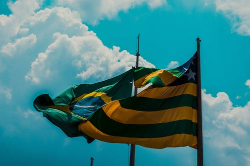 Free stock photo of brazil, brazilian flag, flag, goiânia