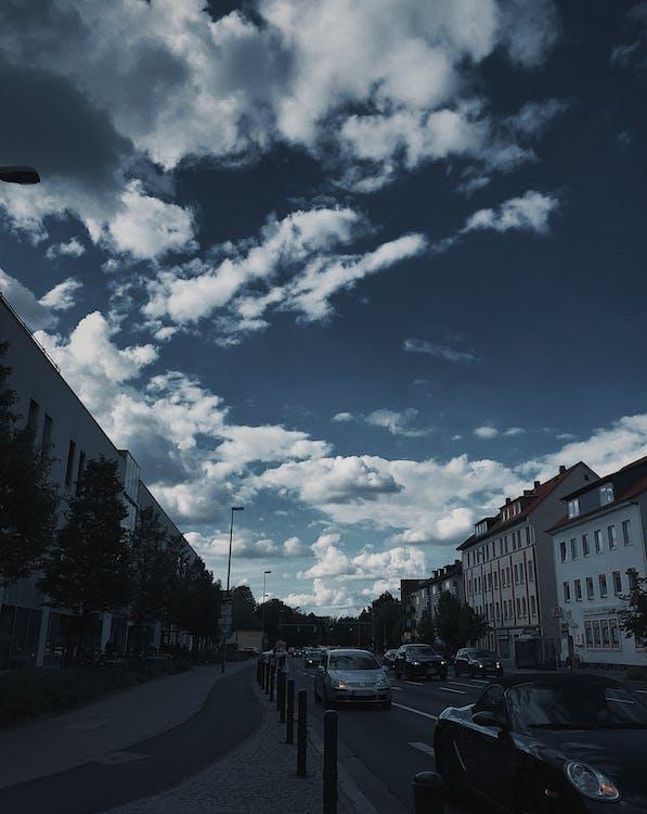 angkutan, awan, bepergian