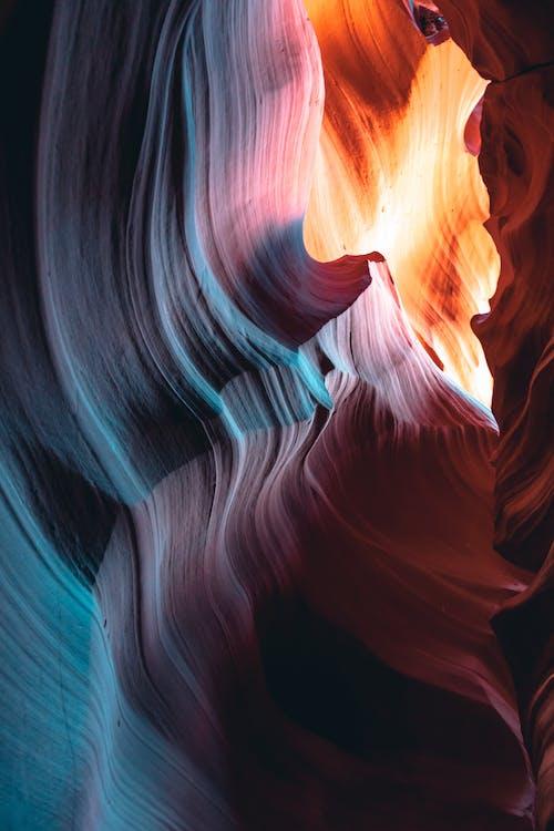 4k ταπετσαρία, antelope canyon, άμμος