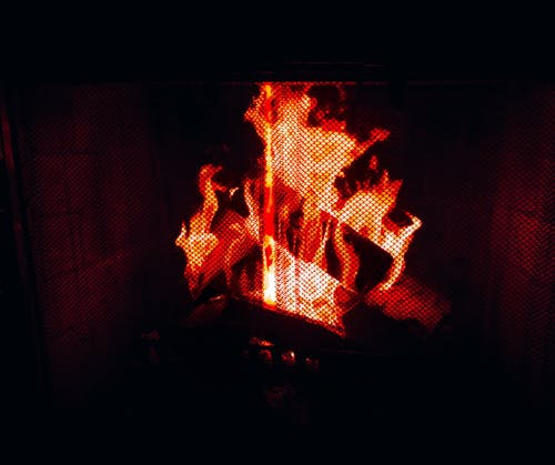 Free stock photo of #burning, #fire, #fireplace, #Flame