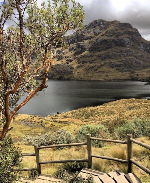 Mountain Beside a Body of Water