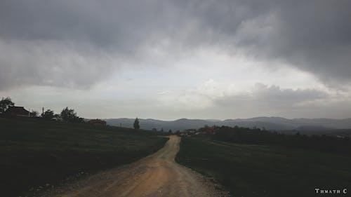 Foto stok gratis awan, awan gelap, badai, gelap