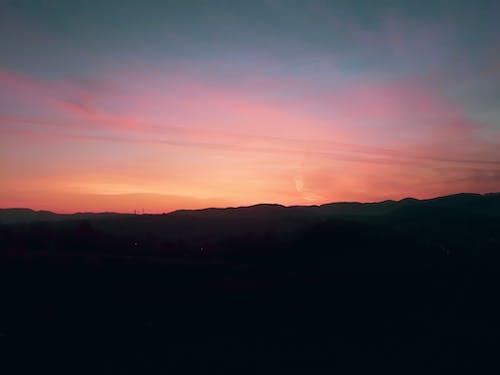 Foto stok gratis awan, berwarna merah muda, cahaya pagi, dini hari