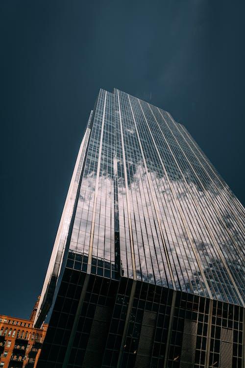 architektúra, budova skla, denné svetlo