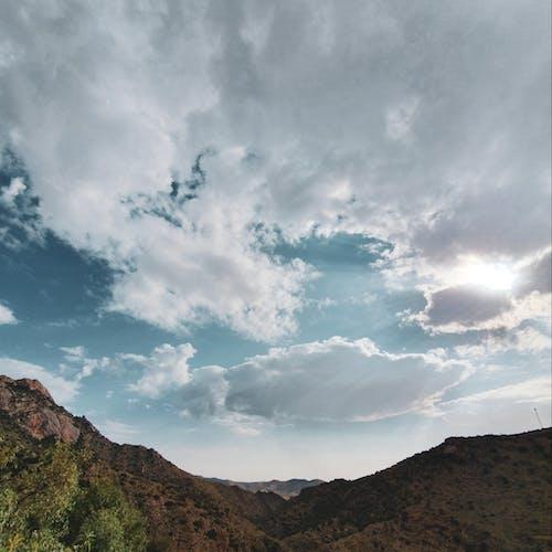 Foto profissional grátis de alvorecer, cair da noite, montanhas, nascer do sol