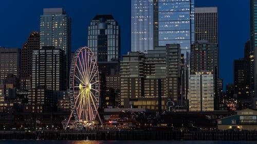 商業, 城市, 塔, 天際線 的 免费素材照片