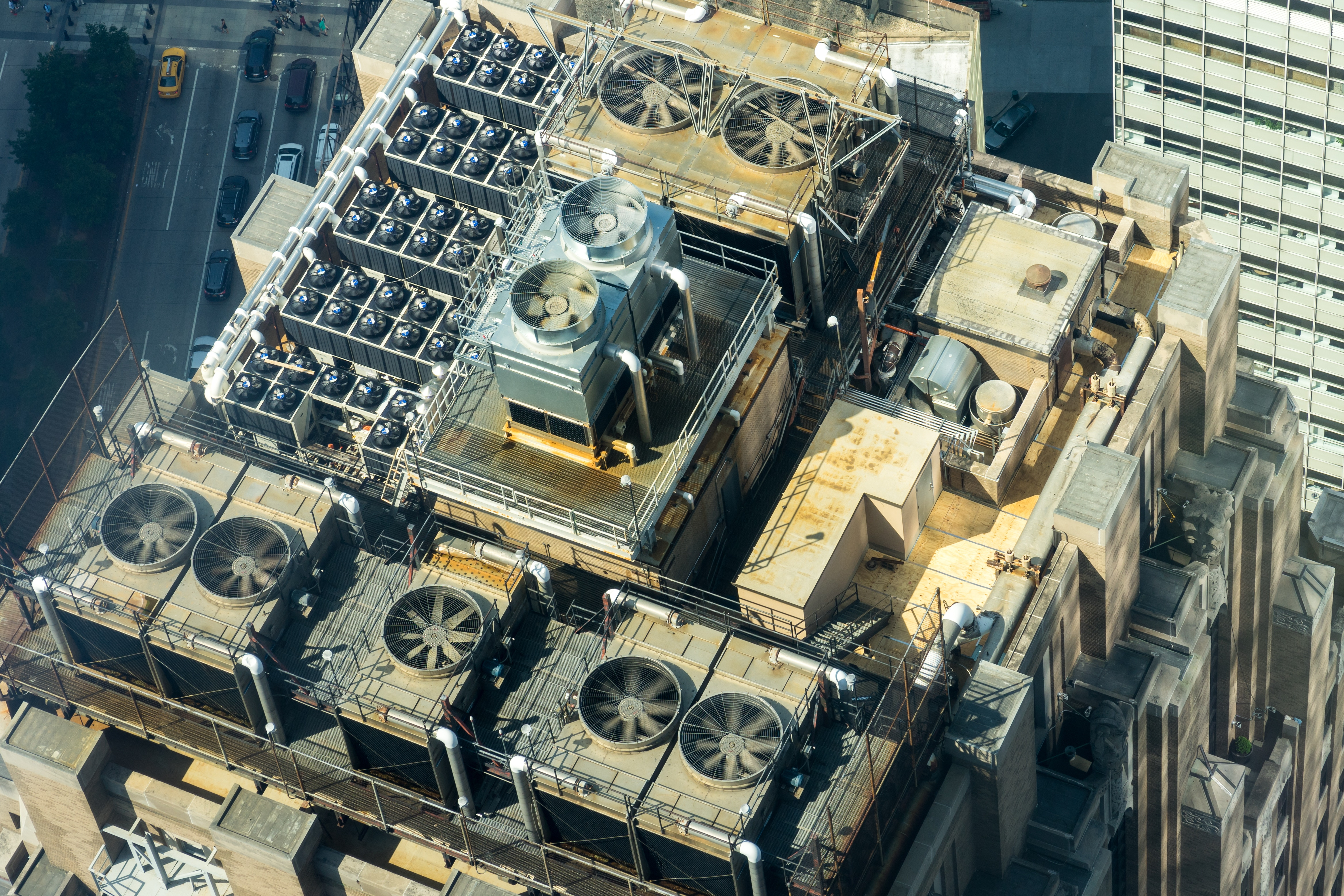 Aerial Photography of Brown Concrete Building