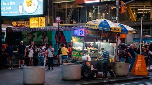 Darmowe zdjęcie z galerii z hot dog, miejski, nowy jork, stanie