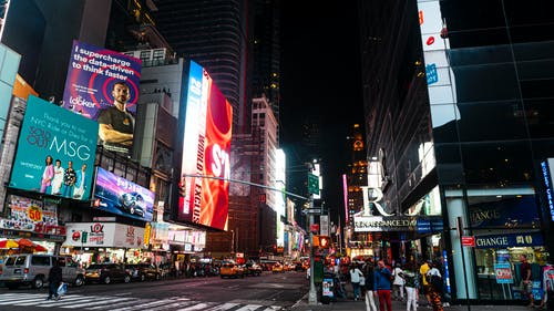 Gratis lagerfoto af New york, New york city, nyc, times square
