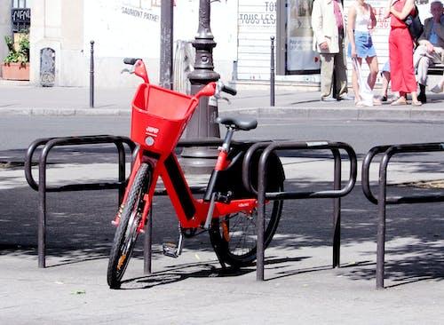 公共交通, 公共自行車, 巴黎, 法國 的 免費圖庫相片