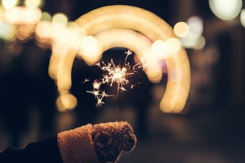 Imagine de stoc gratuită din artificii, celebrare, fotografie de aproape, mână
