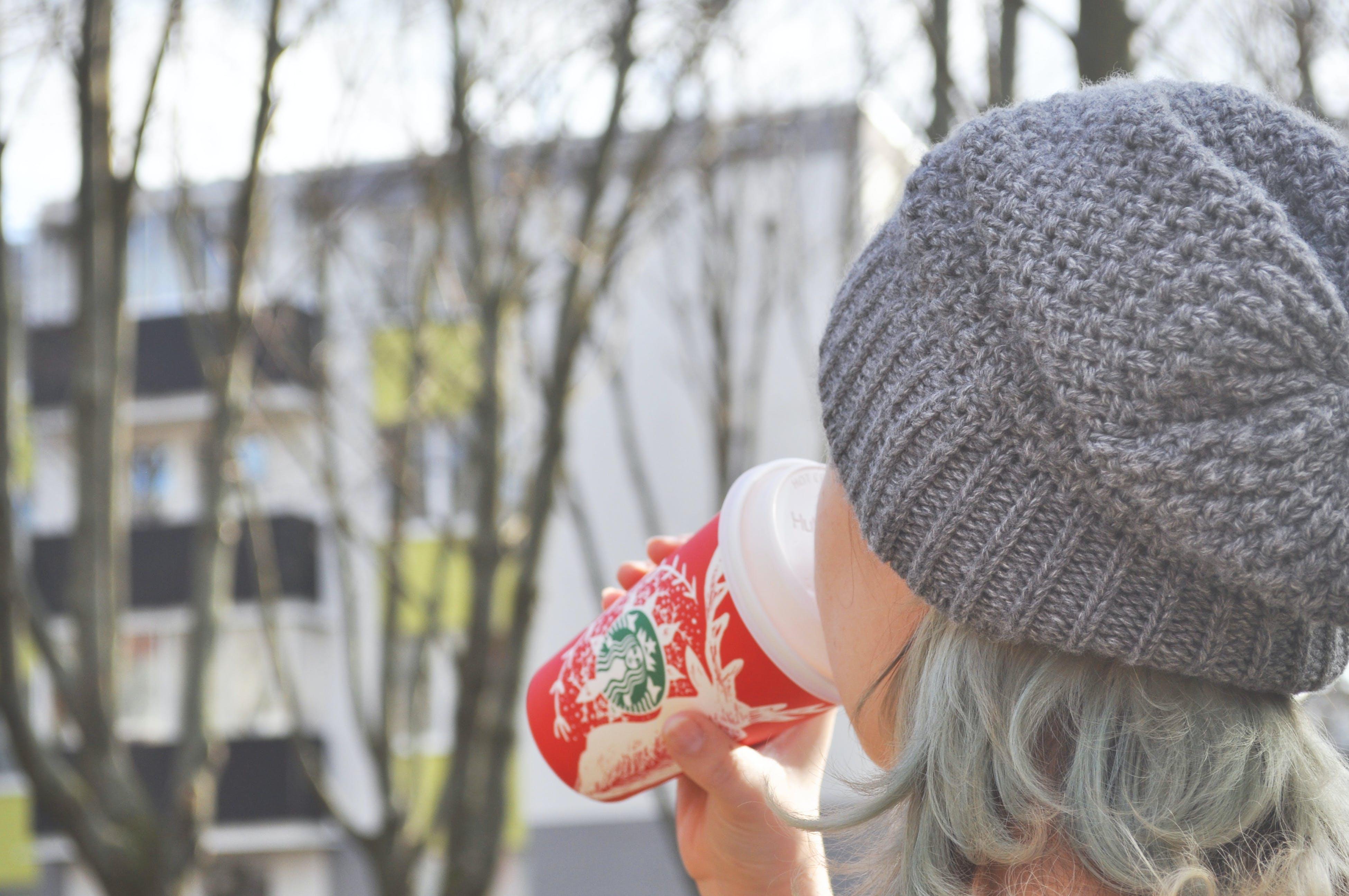 arbres, boire, bonnet