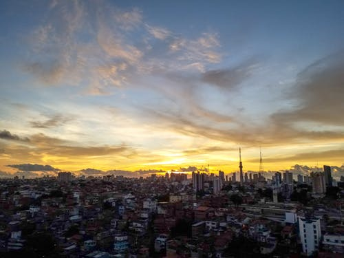 Immagine gratuita di bahia, brasile, cielo, città