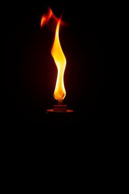 Δωρεάν στοκ φωτογραφιών με ανάβω φωτιά, αναμμένος, γκρο πλαν, δάδα